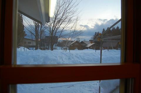 ひるがの高原で雪遊び