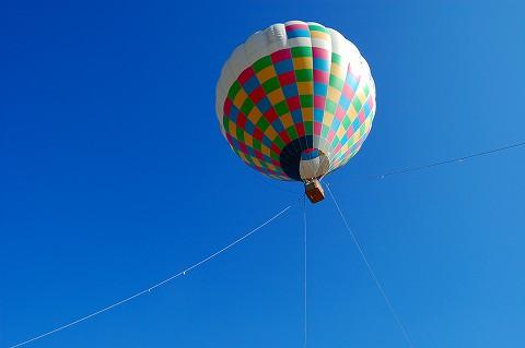 気球に乗ってどこまでも