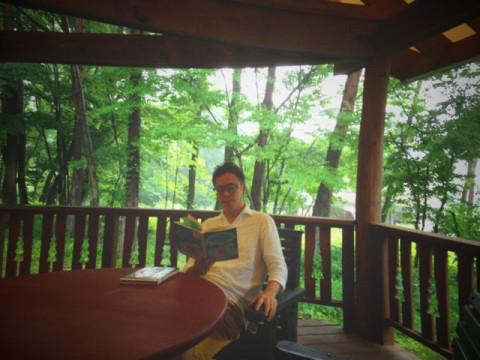 森の読書時間