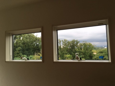 窓からの風景を意識する