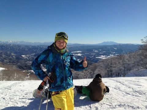 今年の締めはやっぱりスキー