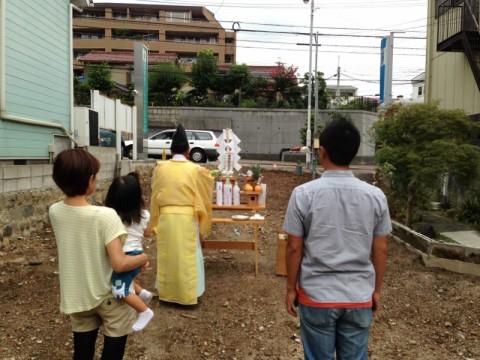 千種区S様邸の地鎮祭