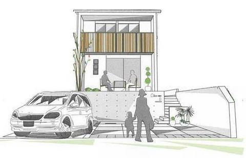 名古屋市天白区「梅が丘の家Ⅱ」いよいよ
