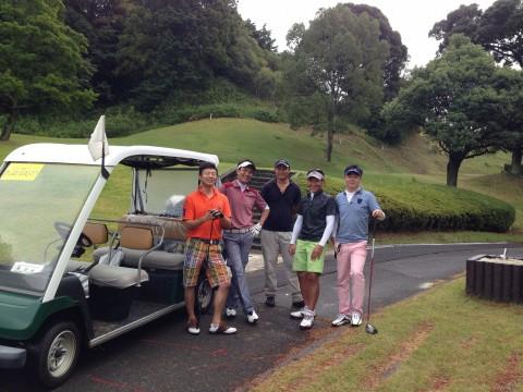 最高のゴルフ日和かな