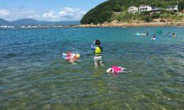 和歌山で海遊び