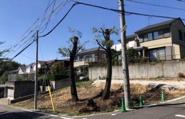 敷地面積約84坪東南角地の自然派物件「建築条件付き無し宅地分譲」