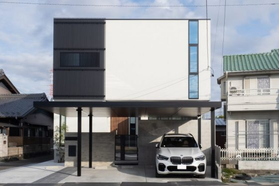 小牧市Y様邸「スタイリッシュデザインハウス」完成