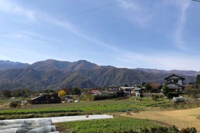 八ヶ岳から秋の訪れと近況報告
