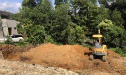 翠松園M様邸基礎工事が始まってます