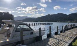 日本海でキスを釣る