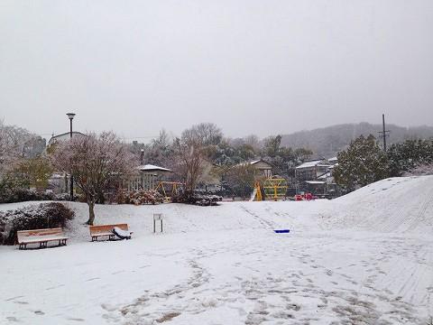 雪が降ると子供にもどってしまう
