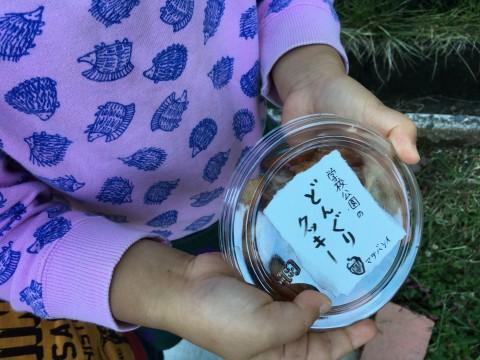 学校公園のどんぐりクッキー