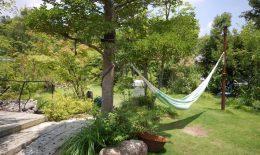庭と共に暮らす