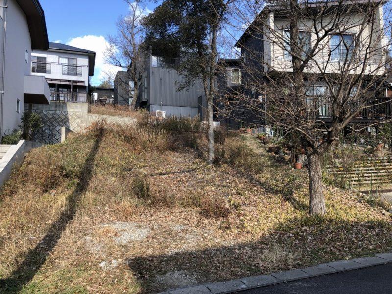 敷地面積約63坪南向きの自然派物件「建築条件付き無し土地」